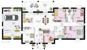Plan De Maison Plain Pied Maisonfarn Tk