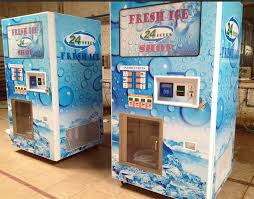 Vending Ice Machines Custom Ice Cube Vending Machines