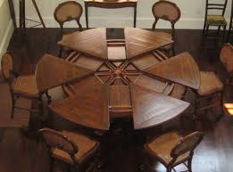 Image of: Affordable Expandable Round Dining Table