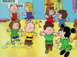 Image result for Peanuts characters dancing