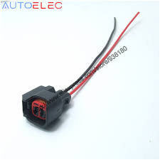 compare prices on gm wiring harness online shopping buy low price 1pcs good quality ev6 ev14 uscar electrical pigtail adapter clip connector wiring harness for s824 pt2160
