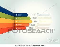 Financial Infographic Template Design Clip Art K24054027