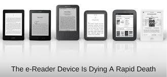 Tablet Ereader Comparison Chart E Reader Device Sales Including Kindle Are In Rapid Decline