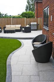 trendy outdoor furniture. stunning modern patio birch granite paving contemporary garden wicker furniture landscaping trendy outdoor