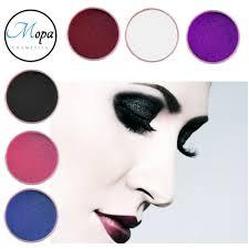 mica shadow pigment powder pearl matte halloween makeup goth emo v er ebay