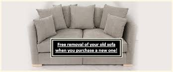 sofa offer free footstool and removal of your old sofa