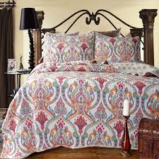 251 best Cotton quilting .patchwork quilts &bedspread images on ... & Find More Information about flowers Quilting Bed cover Three piece set  Cotton Bedspread Water Washed Patchwork Adamdwight.com