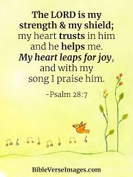 Let this bible verses dwell richly in your heart and keep reciting them whenever you fill scared or afraid. 20 Bible Verses About Joy And Happiness Bible Verse Images