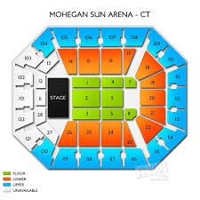 Mohegan Arena Seating Chart Mohegan Sun Arena Seating Chart