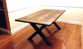 rustic dining table diy. Rustic Dining Table Plans Building A Farmhouse Trestle  Things To In . Diy