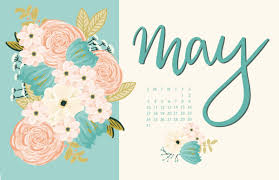 Floral May 2020 Wallpaper Calendar ...
