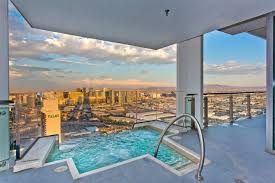 Palms Place 2 Bedroom Suite Palms Place Penthouse 57 Floor Pool Apartments For Rent In Las