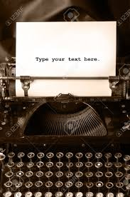 old type writer a blank sheet of paper stock photo picture old type writer a blank sheet of paper stock photo 7563294