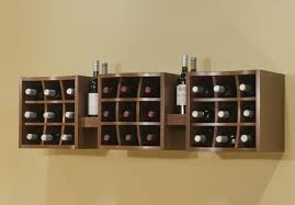 Gorgeous Wine Shelves For Wall Wall Cabinet Wine Rack Roselawnlutheran