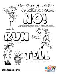 Image result for teach children to say no sexual abuse