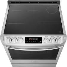 lg induction range. Fine Induction LG LSE4616ST  Induction  Radiant Cooktop In Lg Range 6