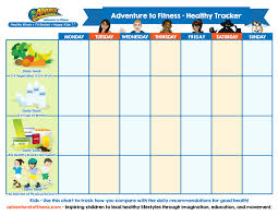 Tracking Meals Chart 16 Prototypal Nutrition Chart For Kids