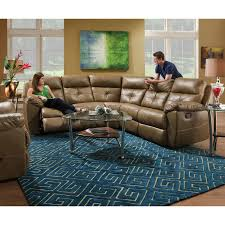 Sectional Living Room 2 Piece Leather Motion Living Room Sectional Set City Creek
