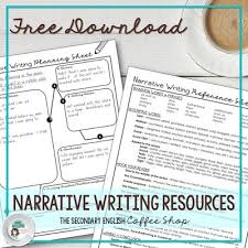 best personal narrative writing ideas personal  helpful hints and tricks for middle and high school teachers to teach students how to write