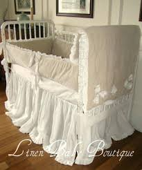 ivory baby bedding custom baby bedding crib set ivory linen and cream by baby of mine ivory baby bedding