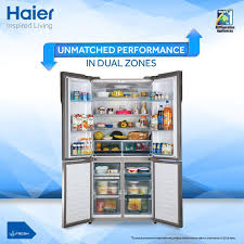 haier 4 door refrigerator. give a modern minimalist feel to your kitchen with haier 4 door # refrigerator. its refrigerator
