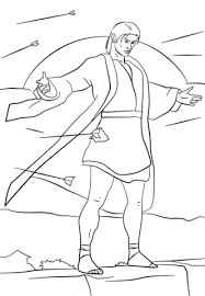 Small Picture Samuel the Lamanite coloring page Free Printable Coloring Pages