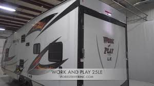 work and play 25wle forest river rv manufacturer of travel trailers fifth wheels tent cers motorhomes