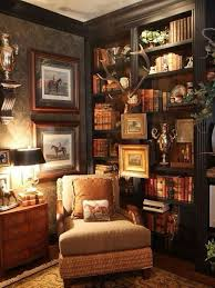 ralph lauren home office. we need a different color set but shelves with silver animal accent ralph lauren home office