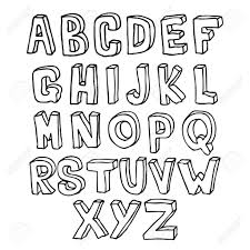3d lettering drawing a z how to draw the alphabet in 3d how to throughout how to draw 3d bubble letters a z articleezinedirectory