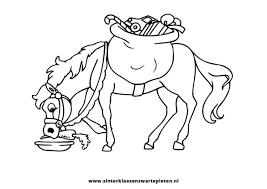 Goed Sinterklaas Paard Kleurplaat Kleurplaat 2019