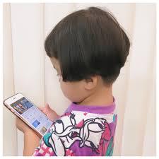 かわいい 刈り上げ ショート 子供dior Of Hair ヤマナカサトル 396061