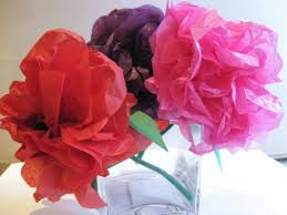 How To Make Flower From Tissue Paper Simple Steps To Craft Tissue Paper Flowers