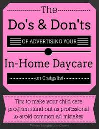Free Childcare Advertising 183 Best Child Development Home Providers Images Childcare