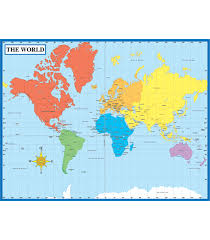 Map Of The World Chart