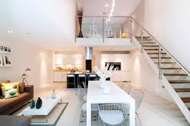 Interior Design Kitchen Living Room Exquisite House In London With Double Volume Space By Lli Design
