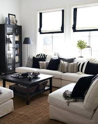 White Modern Living Room Beauteous Black And Tan Living Room Pdxtutor