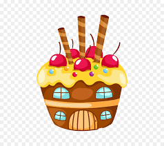 Cupcake Birthday Cake Cartoon Drawing Ice Creamice Cream Png