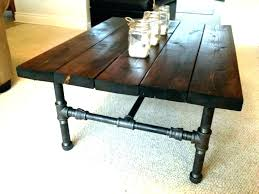 black pipe furniture iron parts wondrous steel coffee table and wood