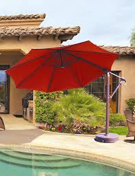 galtech 887 11 ft octagon cantilever umbrella