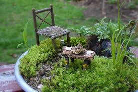 furniture fairy. How To Make Fairy Garden Furniture Fairies In The A