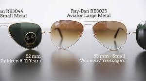 Ray Ban Aviator Size Comparison Www Lensa Ro