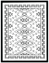 Navajo Coloring Pages Native Designs Coloring Pages Animal Coloring