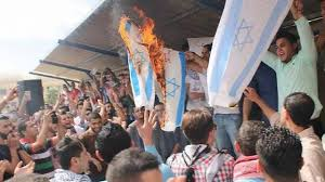 תוצאת תמונה עבור הפגנות נגד ישראל  בירדן