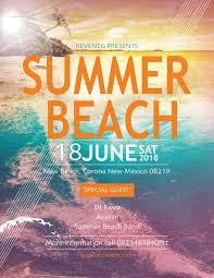 Beach Flyer Summer Beach Flyer Design Template In Psd Word Publisher