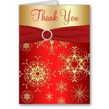 snowflake thank you cards red and gold snowflakes wedding invitation weddings