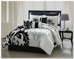 Black And White Bed Sets Queen   Furniture Modern and Unique Design