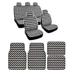 chevron car floor mats. Unique Mats BDK Full Set Chevron Car Seat Covers And Floor Mats On A