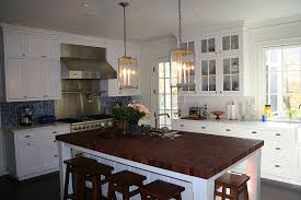 custom sapele mahogany butcher block countertop kitchen island in edgewater md
