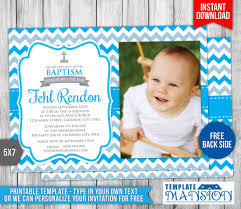 32 Baptism Invitation Templates Free Sample Example