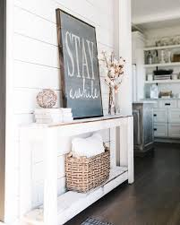 corner foyer table. How To Decorate A Foyer Table Corner E